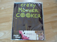 Jamie Oliver Crazy Mother Cooker Apron - Brand New