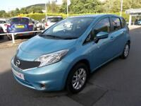 Nissan Note 1.2 Acenta 5dr (sonic blue) 2014