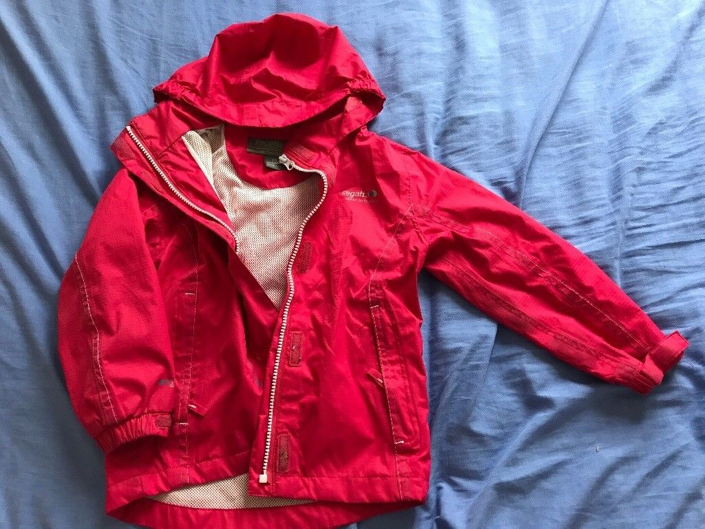 Regatta girls coat 3-4yrs