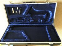 Yamaha Saxophone case and saxophone parts