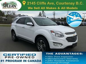 2016 Chevrolet Equinox LTZ AWD Navigation Sunroof