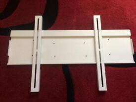 Flat to wall tv bracket for large screens