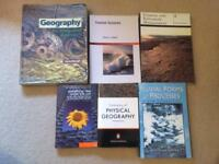 Geography book Bundle for university