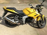 kymco quanno naked 125 cc