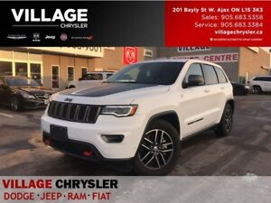 2017 Jeep Grand Cherokee Trailhawk|Luxury Grp|Active Safety|Tow