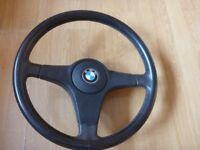 BMW E30 Steering Wheel 3-spoke