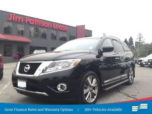 2014 Nissan Pathfinder Platinum w/DVD, NAV, Leather