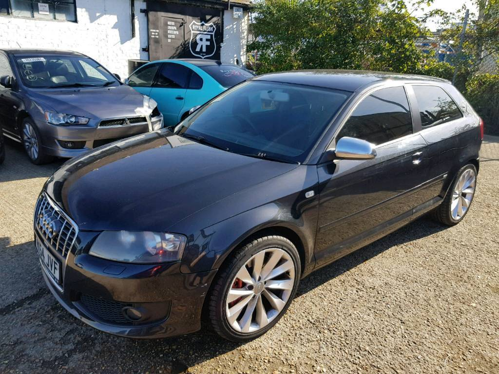 audi a3 3 2l v6 quattro sport s line dsg gearbox in. Black Bedroom Furniture Sets. Home Design Ideas
