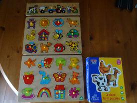 4 x Pre School puzzles
