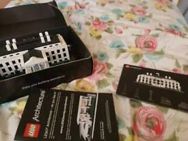 Lego Architecture White House Retired