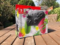UNOPENED NINTENDO SWITCH PRO CONTROLLER LIMITED EDITION
