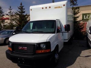2014 GMC Savana CUBE VAN..16 FOOT