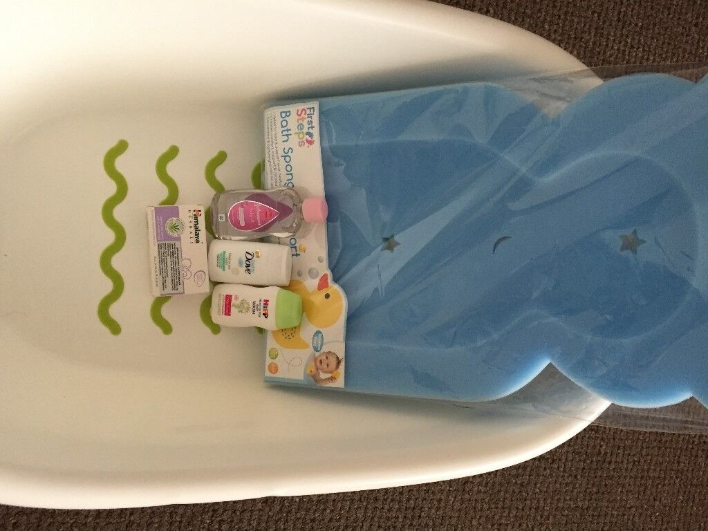 IKEA baby bath (support sponge and some cosmetics extra) | in Luton ...