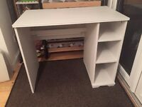 Sturdy white desk for sale + a chair for free