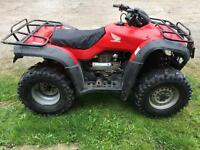 Honda trx 350 4x4 big red quad