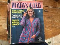 Woman's Weekly 1970s Issues job lot