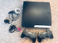 PS3 500GB 2CONTROLLERS 15GAMES