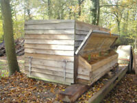 Chicken Coop with 9 Nest Boxes