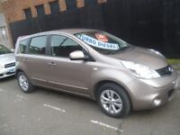 Nissan NOTE,5 door hatchback,FSH,1 previous owner,runs and drives well,£30 road tax,great mpg,58k