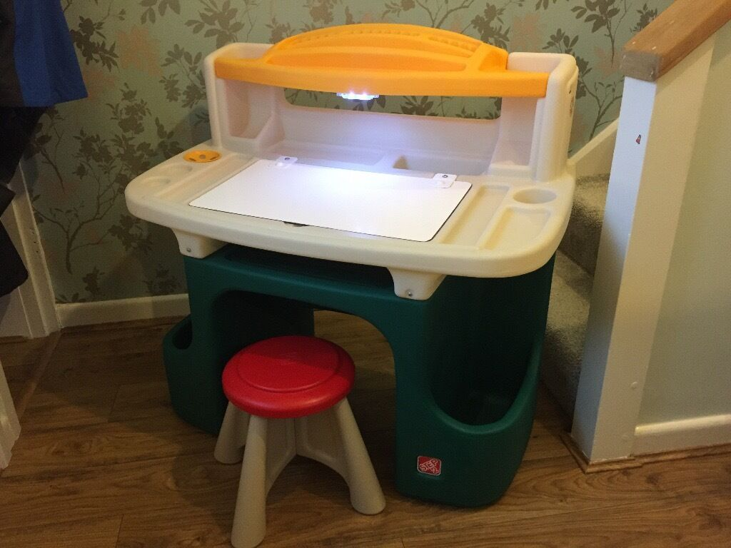 Kids Step 2 Art Master Activity Desk For Creative Play And Home Work