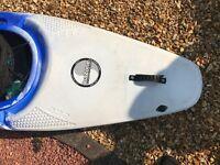 Blue and white Pyranaha Inazone 232 kayak