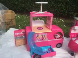 Barbie camper in great condition girls toys