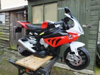 Childs/Childrens Battery Motorcycle