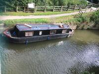 34ft Springer narrow boat