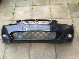 Bmw 5 series e60 m sport front and rear bumper plus side skirts
