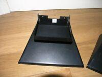 Quality Crown Merton Black Metal Speaker Stand Weymouth