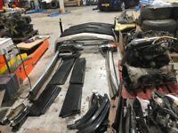 Mercedes 190E Cosworth Parts - Engines, gear boxes, diffs, wheels, steering wheels, Screens....