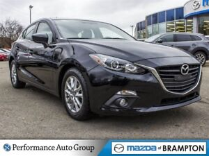 2015 Mazda MAZDA3 SPORT GS. CAMERA. ROOF. BLUETOOTH. ALLOYS. KEY