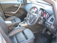 2014 Vauxhall Astra Elite Automatic 1.6 Petrol, New MOT, Full Leather..Low Mileage....