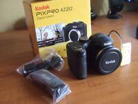 KODAK PIXPRO AZ252 DIGITAL CAMERA, AS NEW, BOXED, CARRY CASE