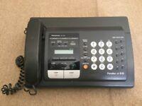 Panasonic, Panafax UF-S10, fax machine, old working order, no paper inc.