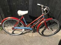 Vintage BSA Bermuda Ladies Town Bike. Stunning Condition, Serviced, Free Lock, Lights, Delivery