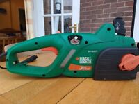 Black and Decker Electric Chainsaw GKT1630T
