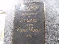 TWO RARE STANLEY GIBBONS STAMP CATALOGUES ONE 1904 THE OTHER 1926