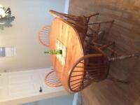 Wood oak table