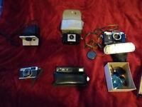 Camera Job lot - Polaroid Smena