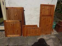 Set of 21 matching pine kitchen cupboard doors £5 - £50