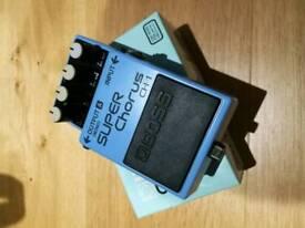 Boss CH1 Chorus pedal