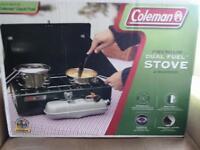 coleman dual fuel 2 burner stove