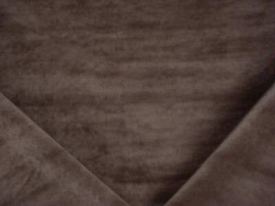 10Y BUTTERY SOFT KRAVET 32565 SLATE BROWN VELVET UPHOLSTERY FABRIC