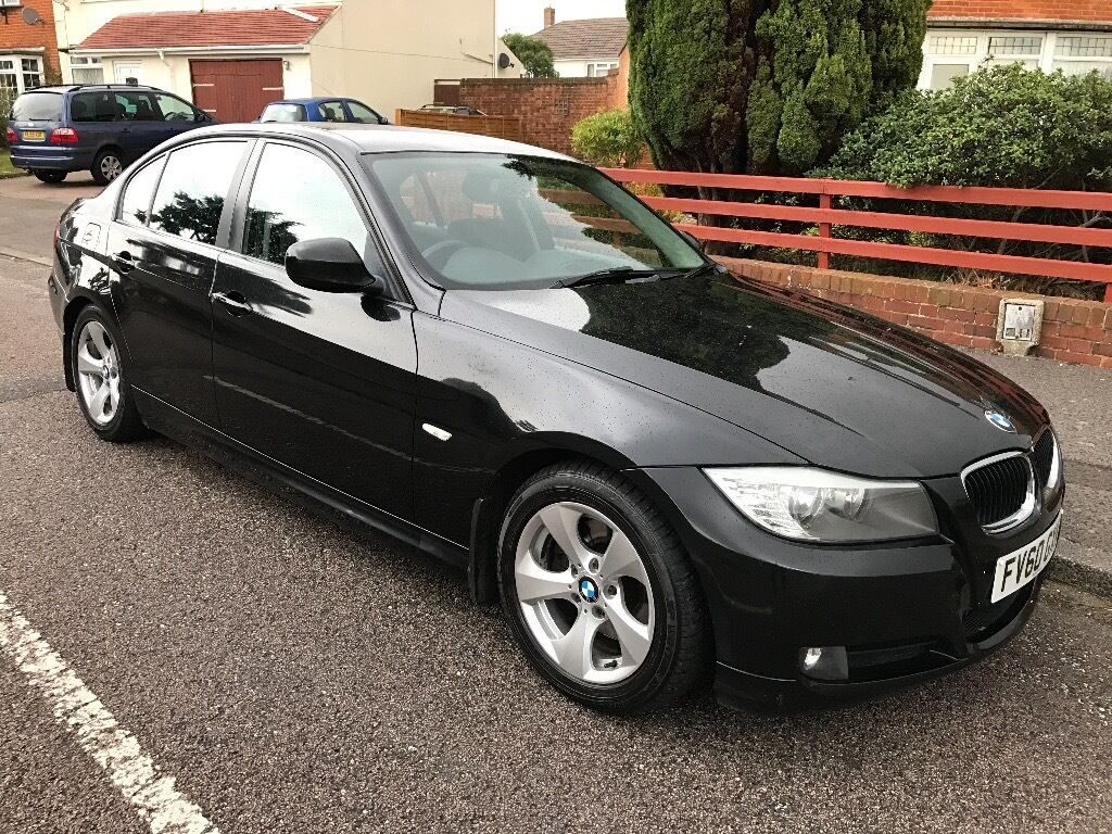 BMW 320D EfficientDynamics 2010 6 speed manual black FSH | in ...