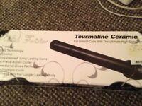 Proliss Twister Tourmaline Ceramic Curling Iron + Free Hair Straighteners