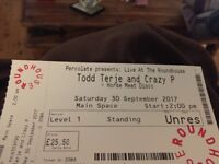 4 Tickets to Todd Terje, Crazy P and Horse Meat Disco on 30 September at The Roundhouse