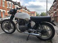 Honda CB250 Superdream. Cafe Racer Project