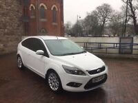 2010 Ford Focus TDCI WHITE