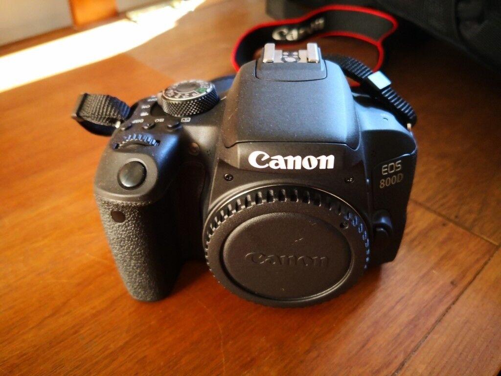 Canon 800D DSLR - Including Carry Bag/18-55mm Lens/55-250mm Lens | in  Endon, Staffordshire | Gumtree
